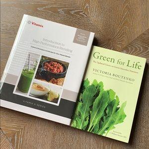VITAMIX + GREEN FOR LIFE Kitchen Books